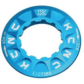 KCNC Verschlussring für Scheibenbremsen Shimano CenterLock blue